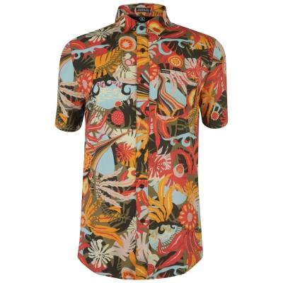 Tricou Volcom Volcom Psych Floral cu maneca scurta pentru Barbati