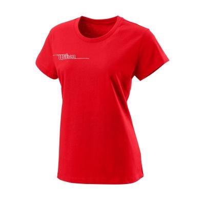 Tricou Wilson Team Tech pentru femei rosu
