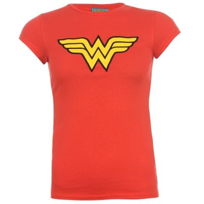Tricou DC Comics pentru Femei rosu