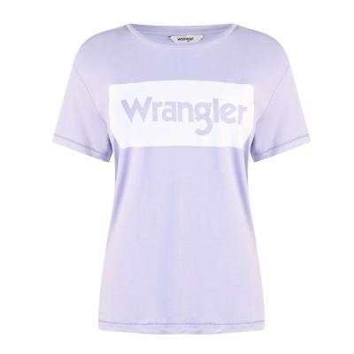 Tricou Wrangler lila