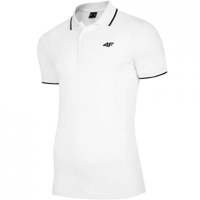 Tricouri 4F alb NOSH4 TSM009 10S pentru Barbati