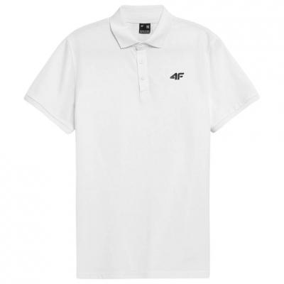 Tricouri 4F alb NOSH4 TSM355 10S pentru Barbati