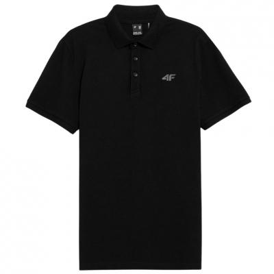Tricouri 4F Male negru intens NOSH4 TSM356 20S