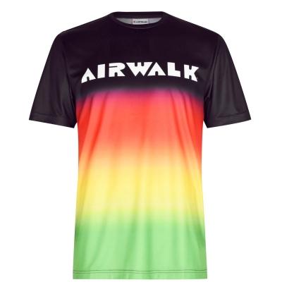 Tricouri Airwalk Fade pentru Barbati multicolor