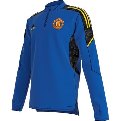 Tricouri antrenament adidas Manchester Uited European 2021 2022 albastru