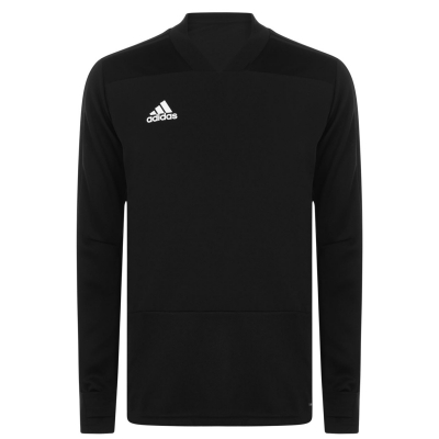 Tricouri antrenament adidas pentru Barbati negru alb