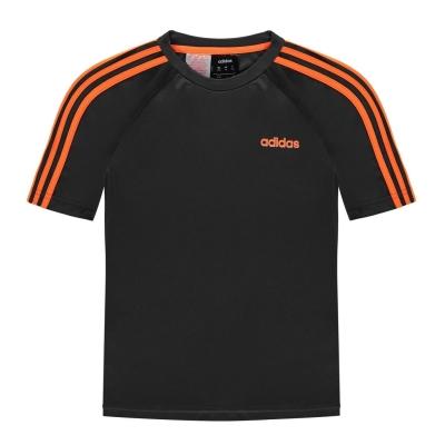 Tricouri antrenament adidas Sereno pentru baietei gri inchis soloran