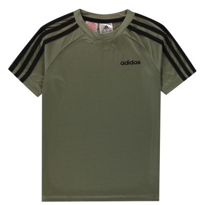 Tricouri antrenament adidas Sereno pentru baietei kaki negru