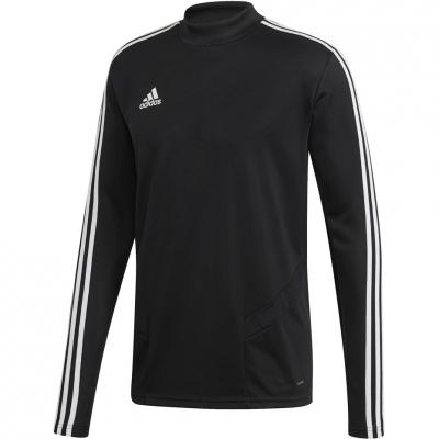 Tricouri antrenament barbati Adidas Tiro 19 negru DJ2592 teamwear adidas teamwear
