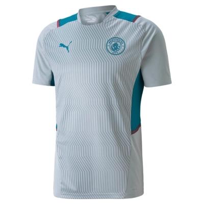 Tricouri antrenament Puma Manchester City 2021 2022 pentru Barbati gri
