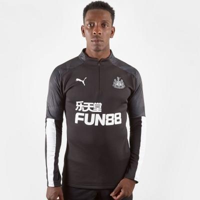 Tricouri antrenament Puma Newcastle United pentru Barbati negru alb