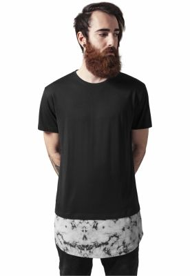 Tricouri barbati fashion marble negru Urban Classics