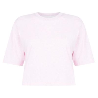 Tricouri Calvin Klein Performance Cropped roz nectar