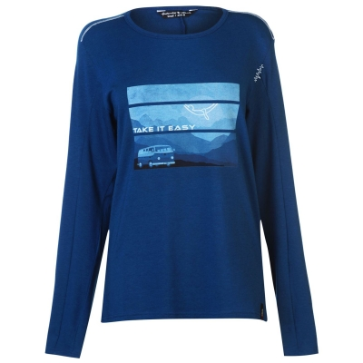 Tricouri Chillaz Alaro pentru Barbati inchis albastru