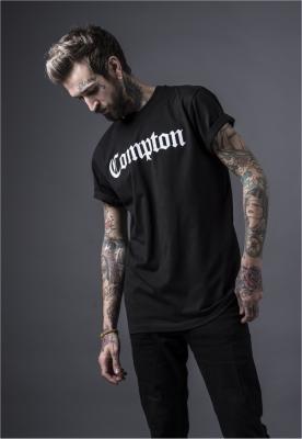 Tricouri Compton pentru barbati negru Mister Tee