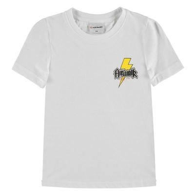 Tricouri cu imprimeu Airwalk pentru copii