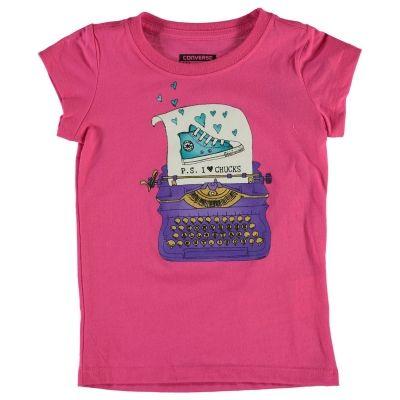 Tricouri cu maneca scurta Converse 865 pentru fete pentru Bebelusi