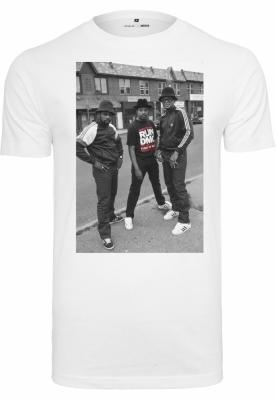 Tricouri cu trupe Run DMC alb Mister Tee