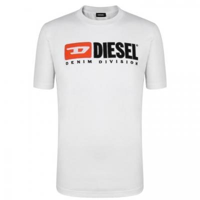 Tricouri Diesel Division alb