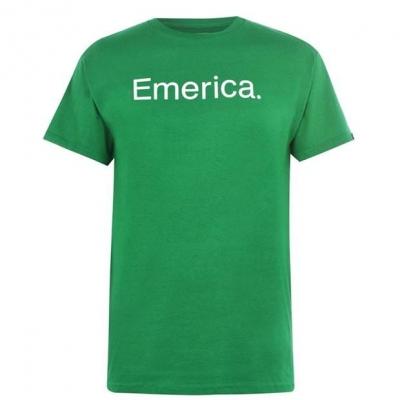 Tricouri Emerica Pure cu maneca scurta verde