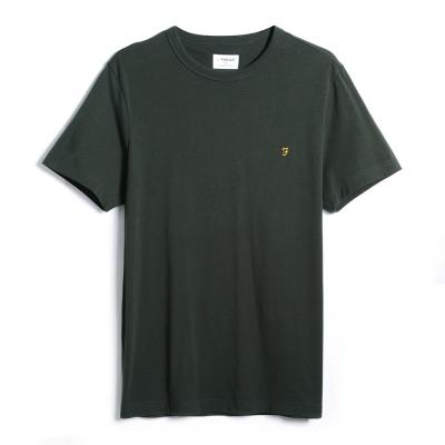 Tricouri Farah Vintage Denny verde
