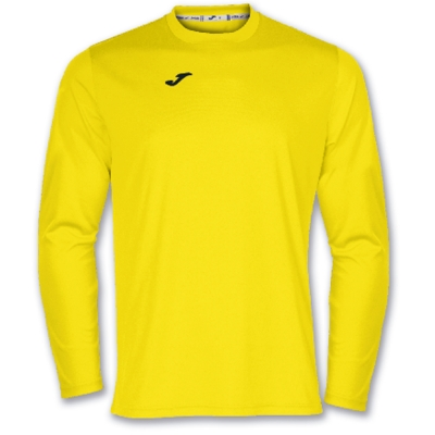 Tricouri Joma T- Combi galben cu maneca lunga