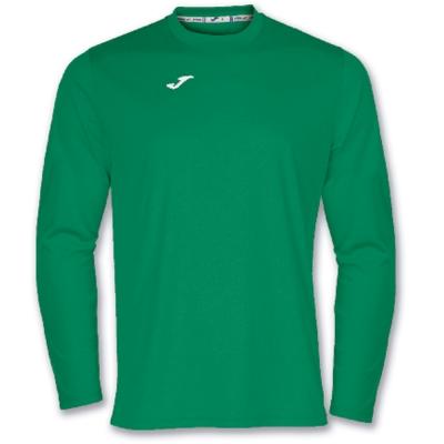 Tricouri Joma T- Combi verde cu maneca lunga