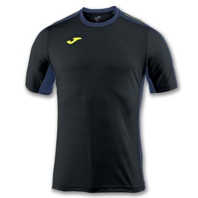Tricouri Joma T- Granada negru cu maneca scurta