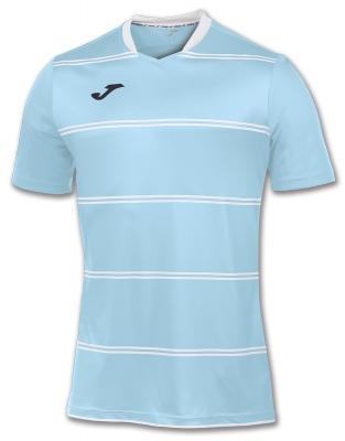 Tricouri Joma T- Standard Sky albastru Stripes cu maneca scurta deschis