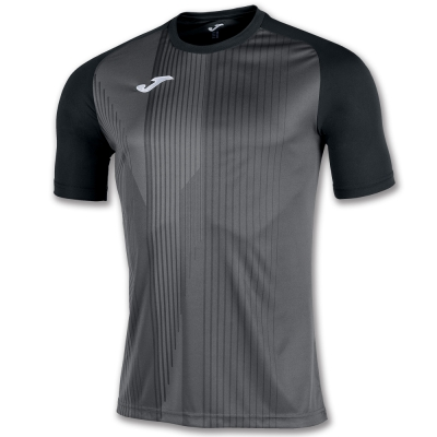 Tricouri Joma T- Tiger negru cu maneca scurta