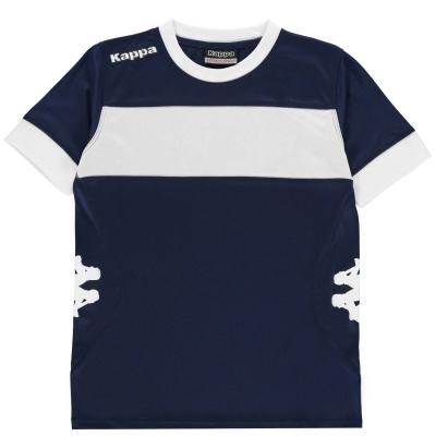 Tricouri Kappa Remilio pentru baietei albastru w