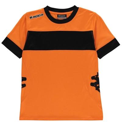 Tricouri Kappa Remilio pentru baietei portocaliu negru