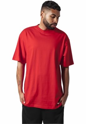 Tricouri lungi simple barbati rosu