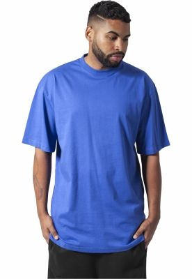 Tricouri lungi simple barbati albastru-roial Urban Classics