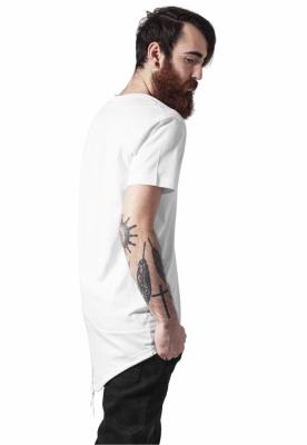Tricouri lungi in spate barbati alb-alb Urban Classics