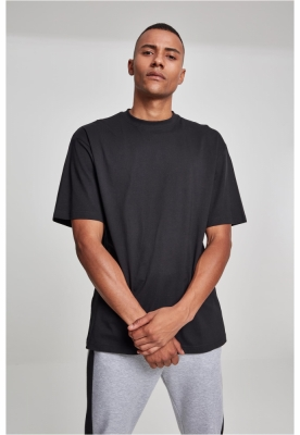 Tricouri lungi simple barbati negru Urban Classics