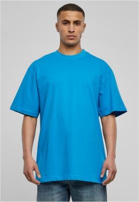Tricouri lungi simple barbati turcoaz Urban Classics