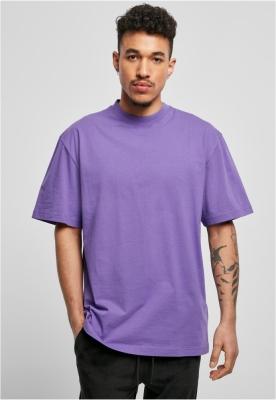 Tricouri lungi simple barbati violet Urban Classics