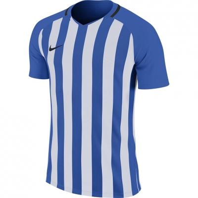 Tricouri Nike cu dungi Division III JSY SS albastru-alb 894081 464 pentru Barbati