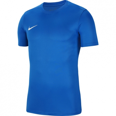 Tricouri Nike Dry Park VII JSY SS albastru barbati BV6708 463