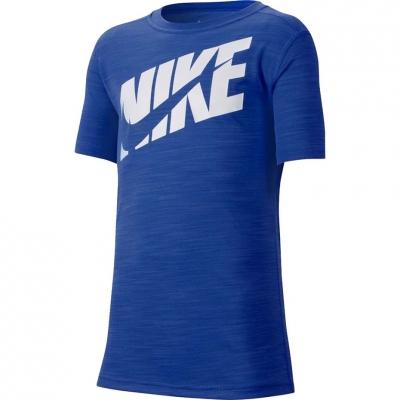 Tricouri Nike Hbr + Perf Top Ss albastru CJ7736 480 pentru Copii