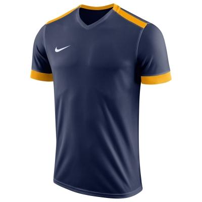 Tricouri Nike Park II Juniors bleumarin auriu alb