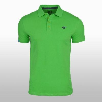 Tricou Polo 4f verde Barbati