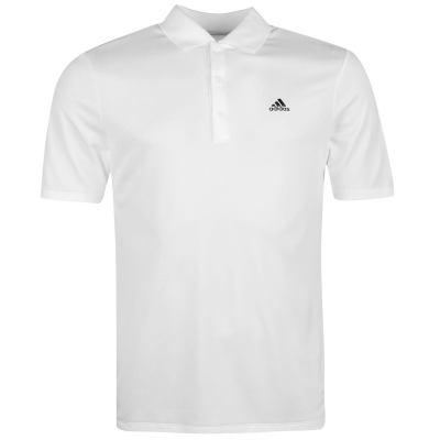Tricouri Polo adidas adiperform Golf pentru Barbati alb
