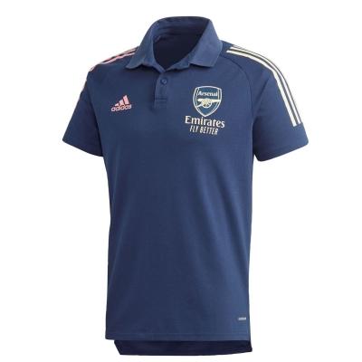 Tricouri Polo adidas Arsenal 2020 2021 pentru Barbati bleumarin