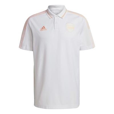 Tricouri Polo adidas Arsenal pentru Barbati alb