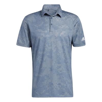 Tricouri Polo adidas Camo pentru Barbati crew bleumarin