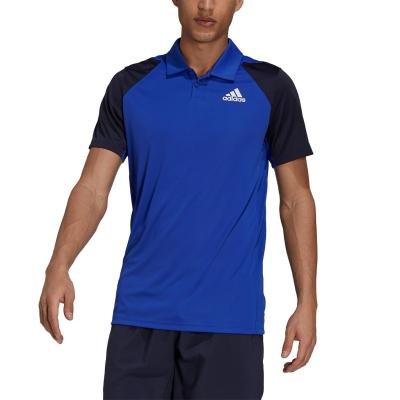 Tricouri Polo adidas Club Performance bold albastru