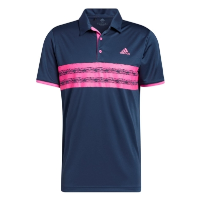 Tricouri Polo adidas Core LC pentru Barbati bleumarin roz