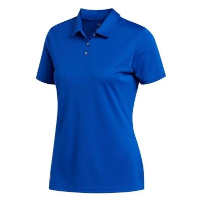 Tricouri Polo adidas cu Maneca Scurta Golf pentru femei albastru roial